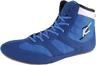 Ringen Kampftraining Schuhe Unisex Erwachsene Jugend Beruf Martial Arts Schuhe Leichte Atmungsaktiv,Hightop,36 Willsky Boxen Stiefel
