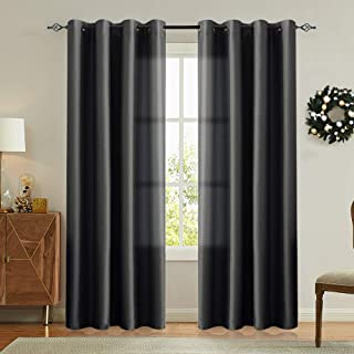 Best satin bedroom curtains Reviews