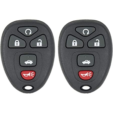 2 New Remote Key Keyless FOB Replacement Rubber Button Pad 15252034 22733523