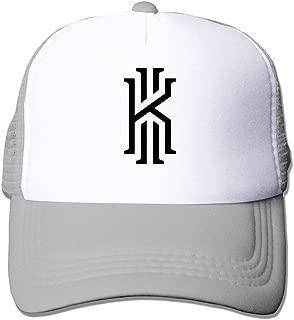 MZONE Adult Flat Billed Cap Hat Basketball Superstar Kyrie #2 Irving Sun Visor Cap Black