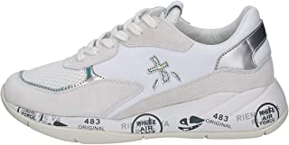 PREMIATA - Donna Scarlett 3694 Scarpa Sneakers in Pelle e Tessuto Bianco - 32371