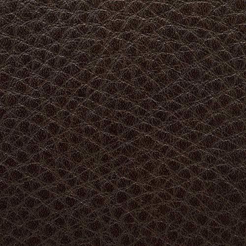 [フェリージ]ブリーフケースメンズ17/81NK+Aシュリンクレザーシボ革ビジネスバッグジップ開閉ダークブラウン