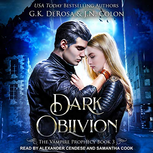 Dark Oblivion audiobook cover art