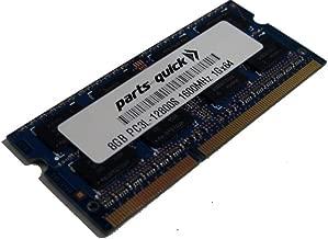 8GB Memory Upgrade for Dell Precision Mobile Workstation M4800 DDR3L 1600MHz PC3L-12800 SODIMM RAM (PARTS-QUICK BRAND)