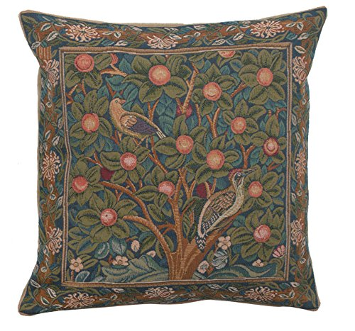 Read About Charlotte Home Furnishing Inc. France Cushion Cover - Large, 19.00 in. x 19.00 in. Willia...