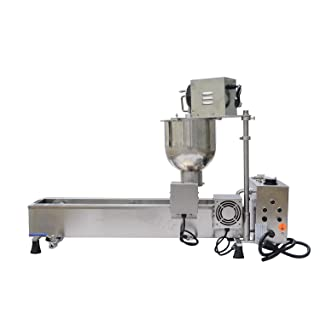 Wotefusi New Donut Frying Machine Commercial Full Automatic Donut Maker Easy Operation 450-500Pcs/H 110V