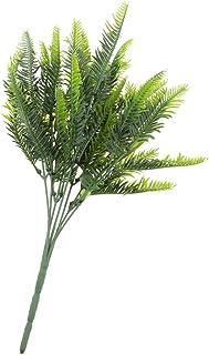 Homyl Arbustos vegetais artificiais – Plantas decorativas para uso externo em ambiente interno