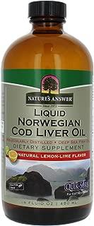 Nature's Answer Cod Liver Oil, 16-Fluid Ounces