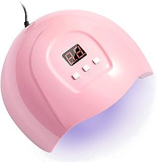 CJWY 54W Lámpara Secador de Uñas LED UV Lampara Uñas 3 Modos de Tiempo Pantalla LED Gel Semipermanentes Maquina Uñas Luz Lamp para Manicura