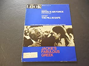 Look Jun 30 1970 Jackie Bags Her Greek; The Pill Is Safe (No, Really)