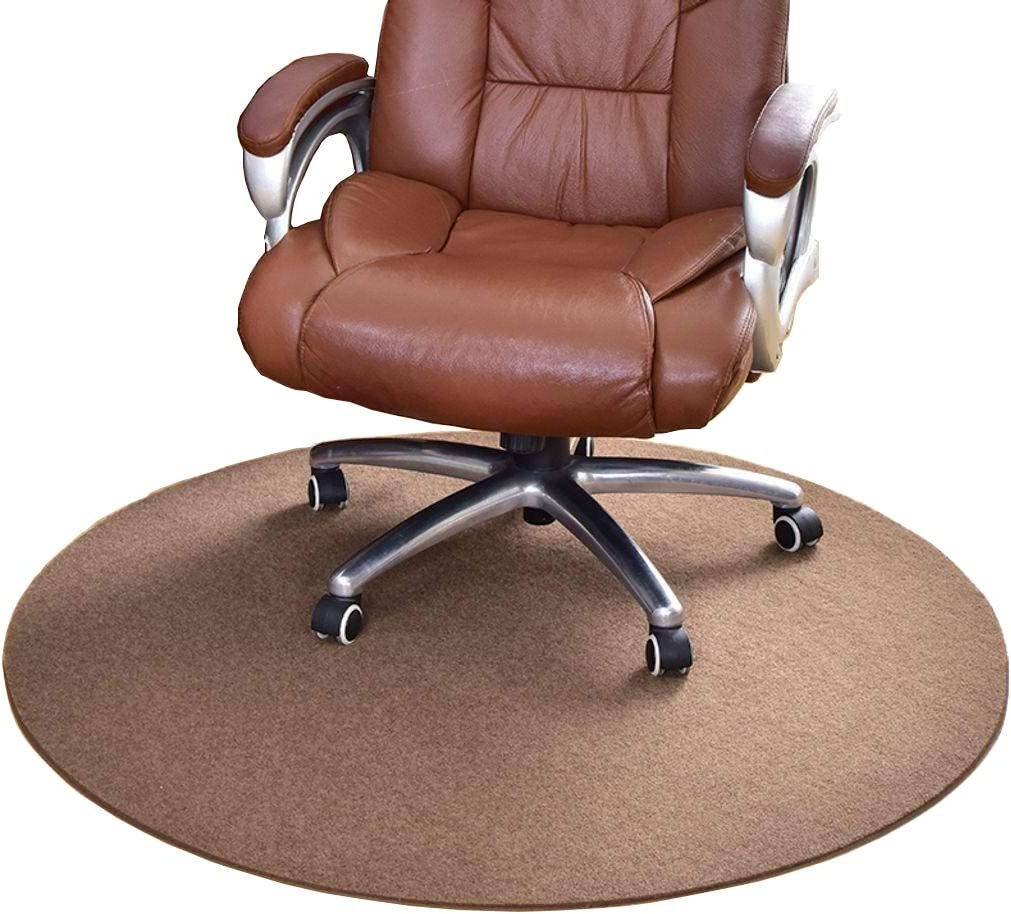 NCONE Office Chair Mat Round Floor Challenge the lowest price of Japan ☆ Home Slip Department store for Non Thick