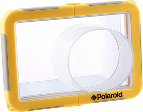 wholesale Polaroid Dive-Rated Large Waterproof Camera Housing - Protects Most 2021 Large Digital sale Cameras sale