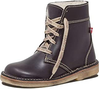 Duckfeet Odense Lace-Up with Wool Lining Unisex Boots | Leather