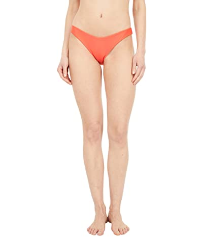 Volcom Simply Solid V Bottoms (Electric Coral) Women