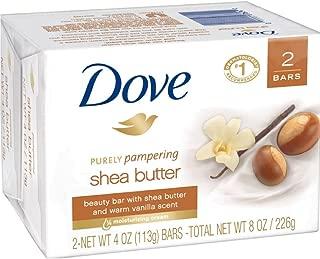 Dove Purely Pampering Shea Butter Beauty Bar, 4 oz, 2 Bar