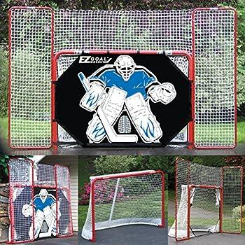 garage hockey net