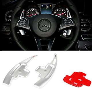 steering wheel paddle shifters mercedes