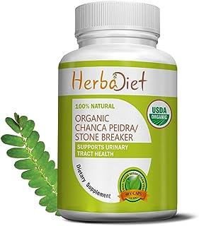 Organic Stone Breaker Chanca Piedra 400mg Capsules   Kidney Cleanse, Stone Crusher, Gallbladder Support Formula   Detoxify...