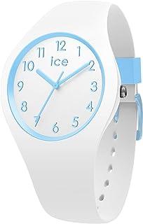 Ice-Watch - Ice Ola Kids Cotton White - Montre Blanche pour Garçon avec Bracelet en Silicone - 014425 (Small)