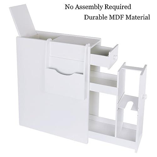 . Slim Bathroom Storage Cabinet  Amazon com