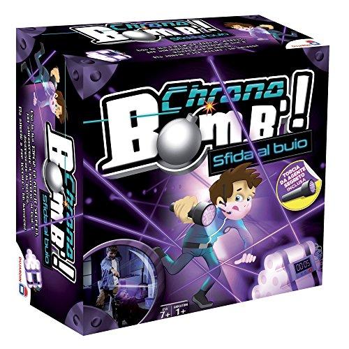 Rocco Giocattoli 90421 - Chrono Bomb Desafía en la Oscuridad, Juego para niños de 7 años