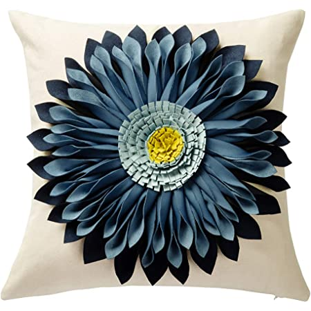 Solid Throw Pillow Cover Home Office Sofa Case Cushion Gift Decoration N3