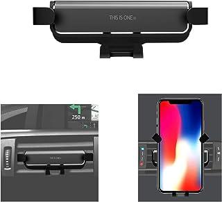 EasyULT Supporto Auto Smartphone Magnetico per Bocchette dellAria Auto,Robusto Porta Cellulare Auto Magnetico Compatibile con iPhone XS Max//XR//X,Galaxy S10//S9,Huawei,Xiaomi ed Altro-Argento
