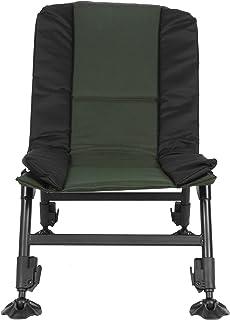 EBTOOLS Chaise de Pêche Hauteur et Inclinaison Réglables Chaise de Camping Fauteuil Pliable Fauteuil de Pêche Chaise Plian...