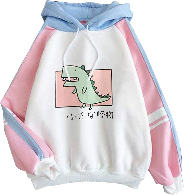 Huangse Cute Sweatshirt for Womens Teens Girls Animal Cosplay Hoody Tops Anime Hoodie Kawaii Jumper Comfy Sweater