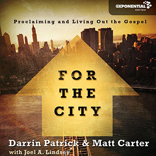 For the City audiobook cover art