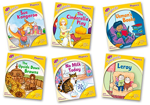 Oxford Reading Tree Songbirds Phonics: Level 5: Mixed Pack of 6