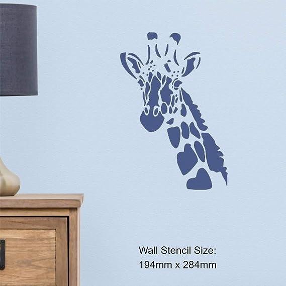Azeeda Grand A2 Montgolfi/ère Pochoir Mural WS00038089