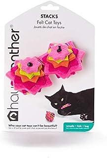 Hauspanther Collection Stacks Felt Cat Toys (set of 2) by Primetime Petz, Zest
