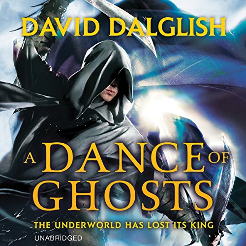 A Dance of Ghosts audiobook cover art