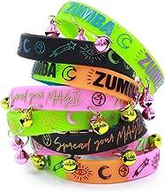 ZUMBA ズンバ ロゴ ラバーバンド 8本セット MULTI