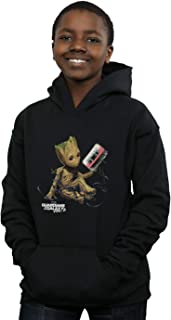 Marvel Niños Guardians of The Galaxy Groot Tape Capucha