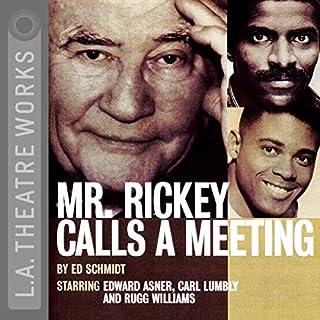 Mr. Rickey Calls a Meeting audiobook cover art