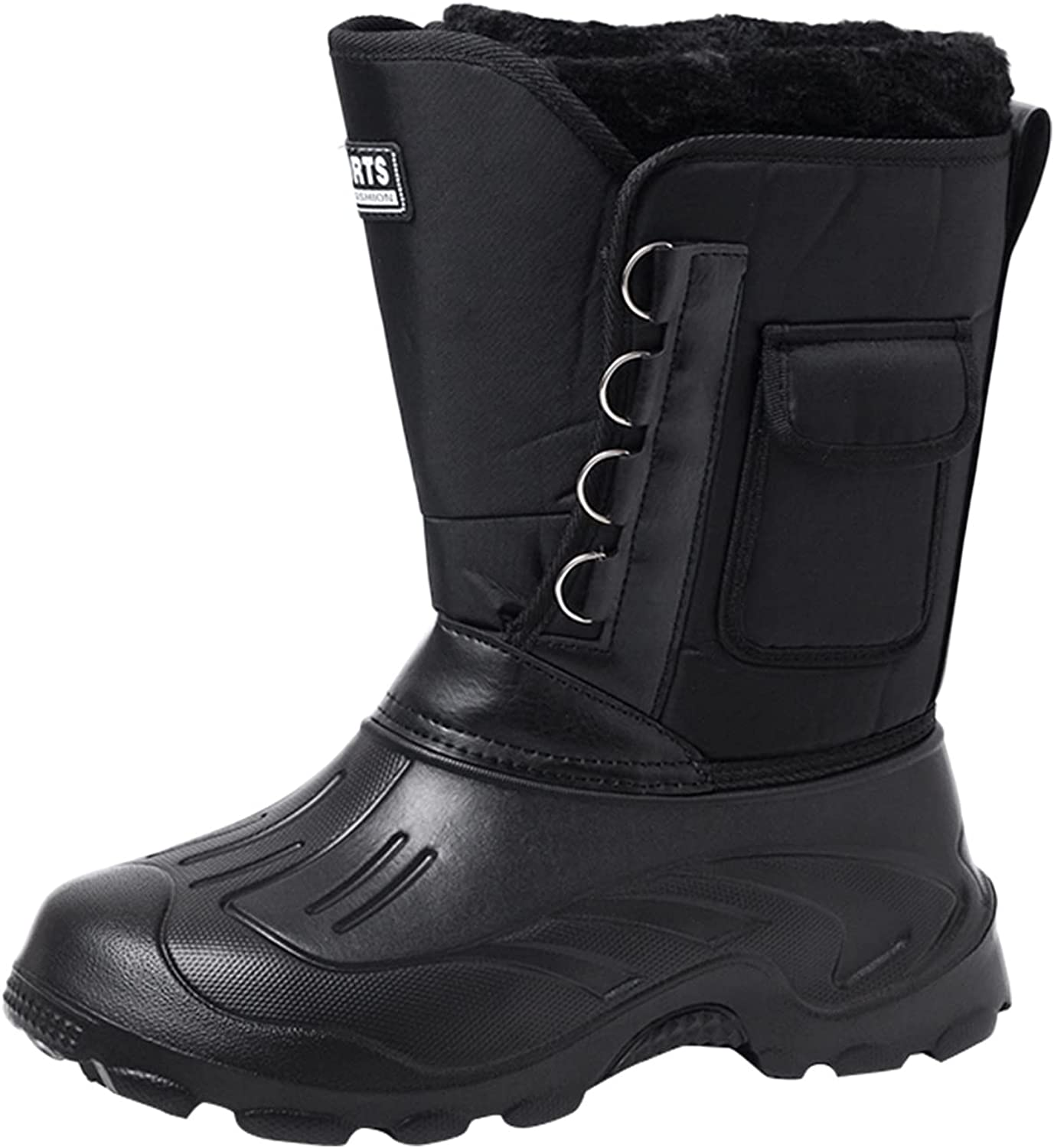 OFFicial site Great interest LLDYYDS Men's Snow Boots Round Toe Slip Waterproof On Soft A