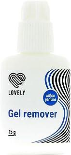 LOVELY GEL REMOVER (15 ml) Geurvrij, REMOVES FAST + HELP-FREE + EFFECTIVE kunstwimpers - Voor betere wimperstijlen