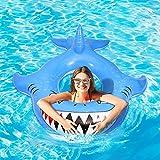 CLISPEED Flotador hinchable para piscina en verano, playa, para fiestas y para adultos y niños 10,7 x 10,6 m
