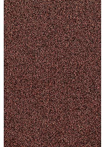 Glitter/Glitzer A4 Transferfolie/Textilfolie zum Aufbügeln auf Textilien - perfekt zum Plottern geeignet - einzelne Folien, Glitter 2:Bronze