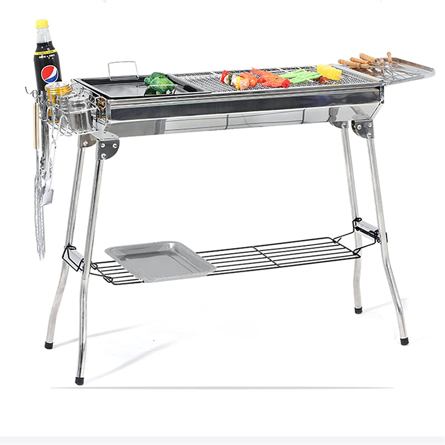N B Popularity Portable Award-winning store Charcoal Grill and Foldable Lightweight Durable