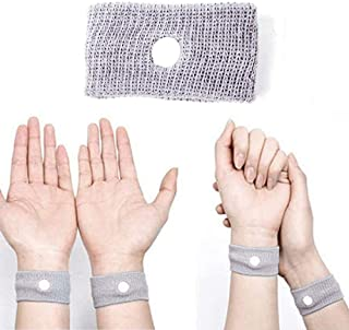 2Pack Travel Sickness Bands Nausea Relief Headaches Acupressure Drug for Motion Sickness