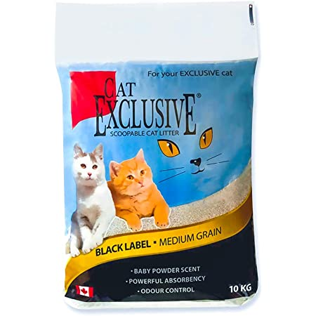 Intersand Cat Exclusive Scoopable Cat Litter (10 Kg, Multicolor)