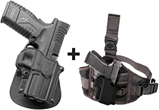 Fobus SP-11 TR LH Paddle Left Handed Passive Retention Holster Tisas Zigana T, F, FC, K, KC + EXND Thigh Rig Platform