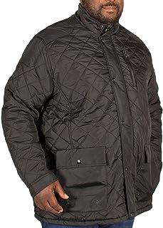 D555 Duke Mens Big Tall King Pollard Quilted Padded Jacket