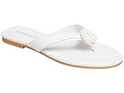 Jack Rogers Rowan Flip-Flop (White) Women