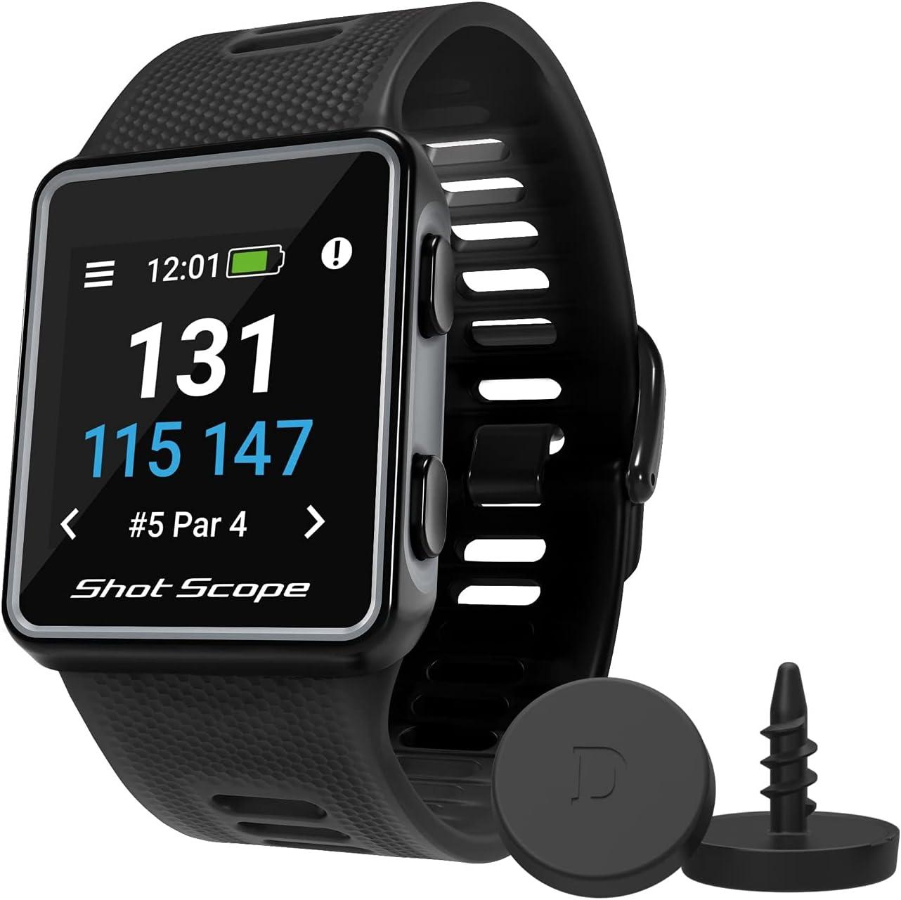 Shot Scope V3 GPS Watch - F Automatic + Baltimore Mall Hazard B 4 years warranty M S Distances
