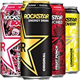 Rockstar Energy Drink, Core 4 Flavor Variety Pack, 16oz Cans (12 Pack) (Packaging May Vary)