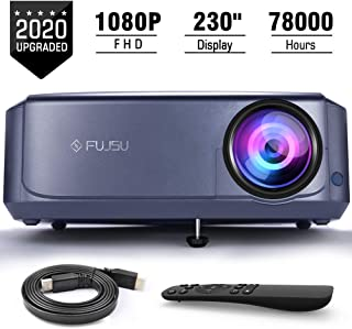 FUJSU 1080P Full HD Office Beamer do prezentacji PowerPoint,